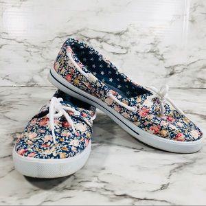 Delic 8 Floral Boat Shoes